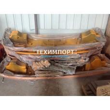 Бампер металлический желтый в сборе с нижней частью F2000 DZ93189932010